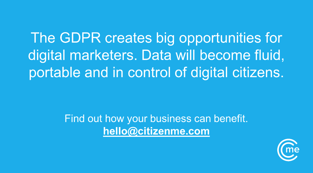 eu gdpr citizenme opportunity