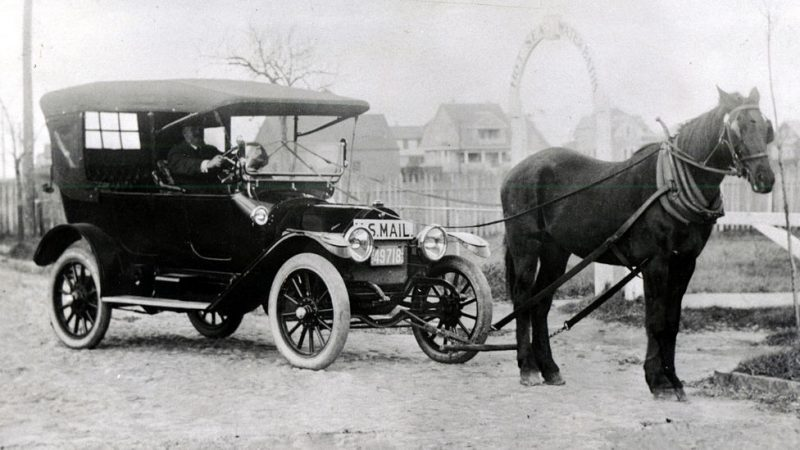 Ford and Horse